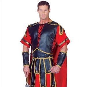 Men's Gladiator Costume By Underwraps  Sz One Size